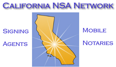 California Notary Signing Agents Network